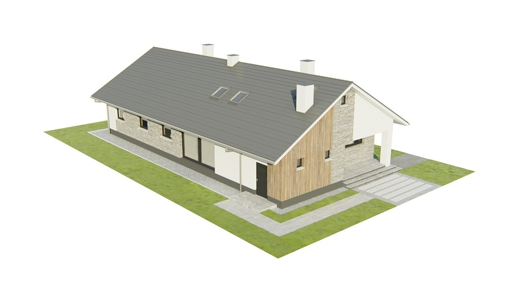 Projekt domu DM-6779 - model