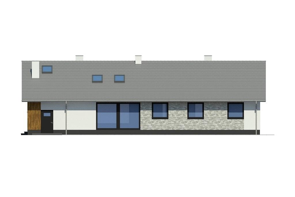 Projekt domu L-6779 - elewacja
