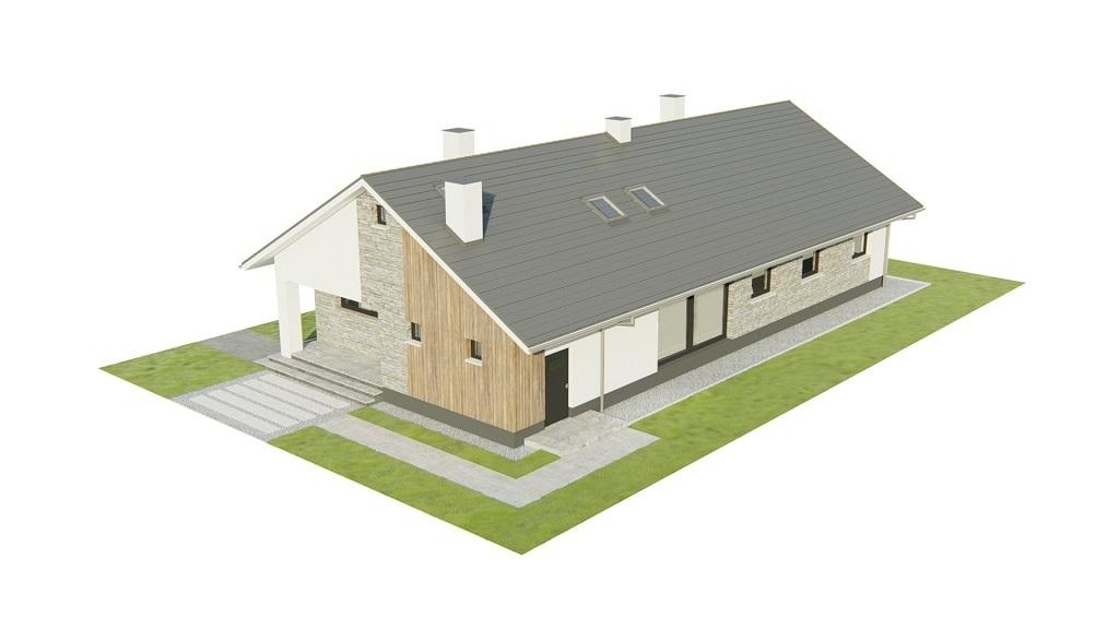 Projekt domu L-6779 - model