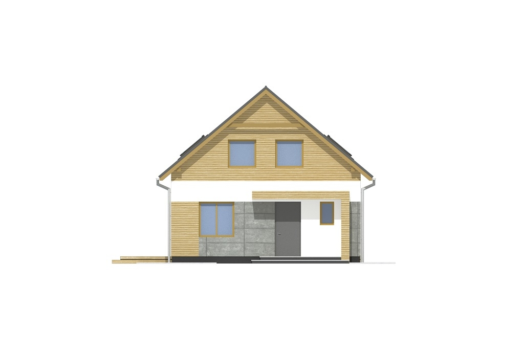 Projekt domu DM-6785 - elewacja