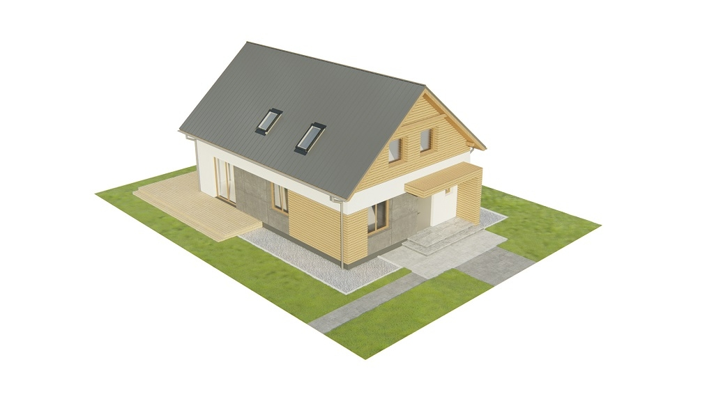Projekt domu DM-6785 - model