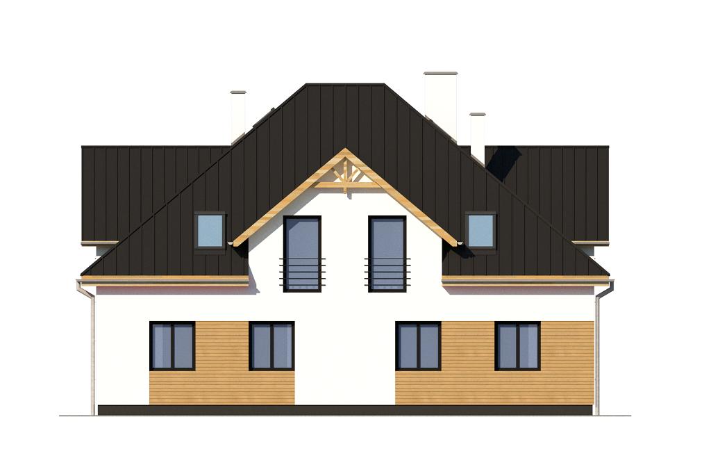 Projekt domu DM-6752 - elewacja
