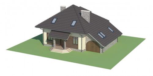 Projekt domu L-5521 - model
