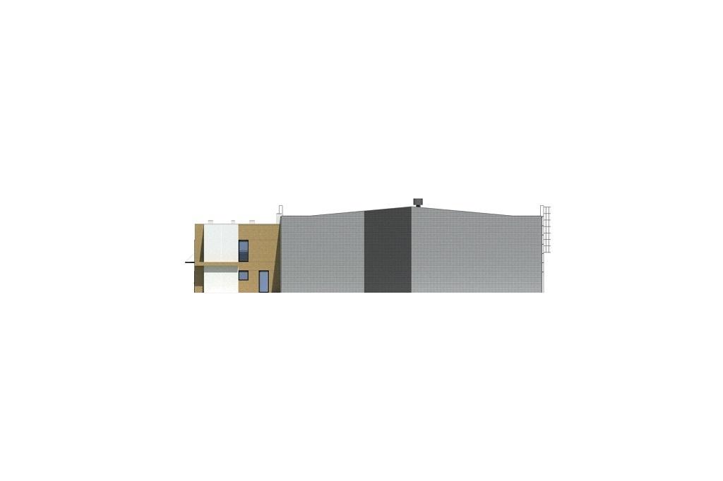 Projekt LK-139 - elewacja