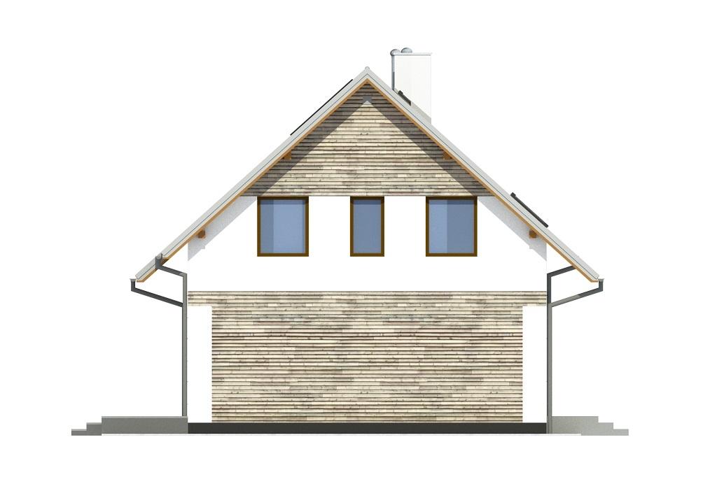 Projekt domu DM-6791 - elewacja