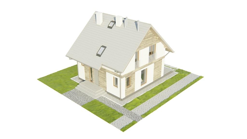 Projekt domu DM-6791 - model