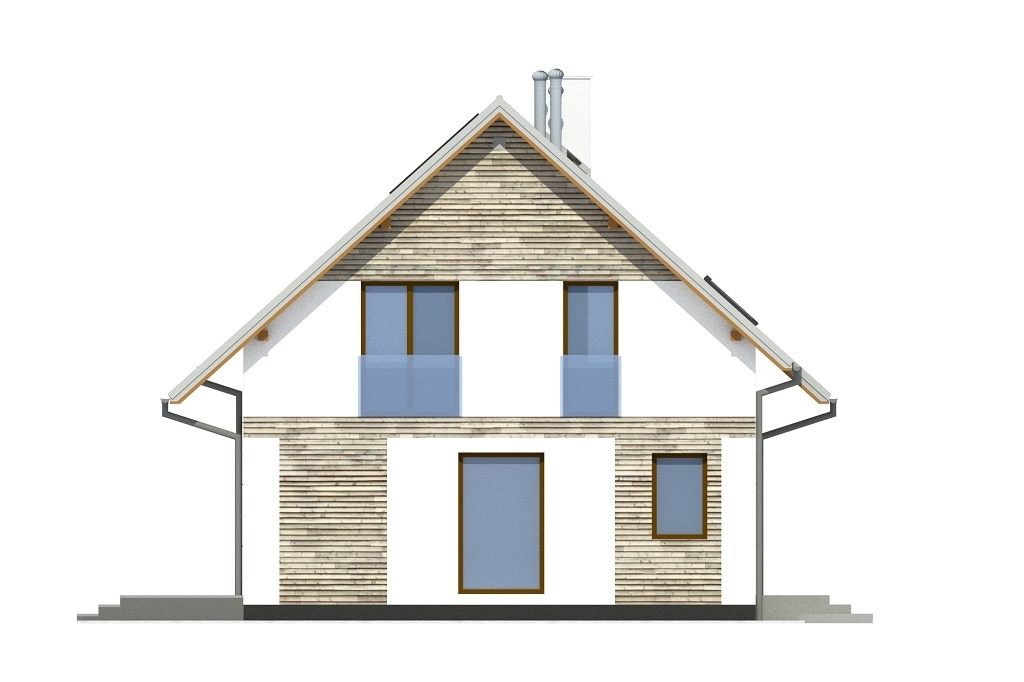 Projekt domu L-6791 - elewacja