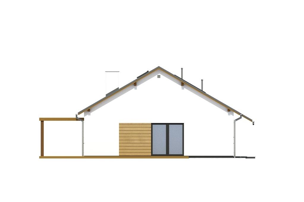 Projekt domu DM-6735 - elewacja