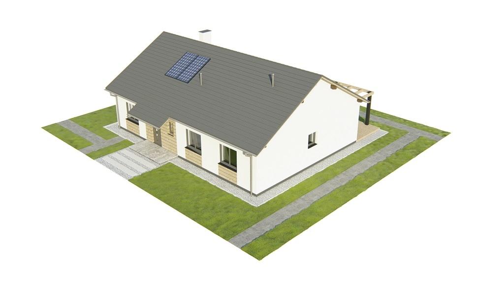 Projekt domu DM-6735 - model