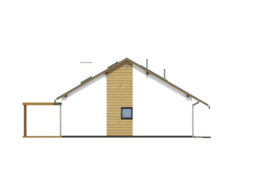 Projekt domu L-6735 - elewacja