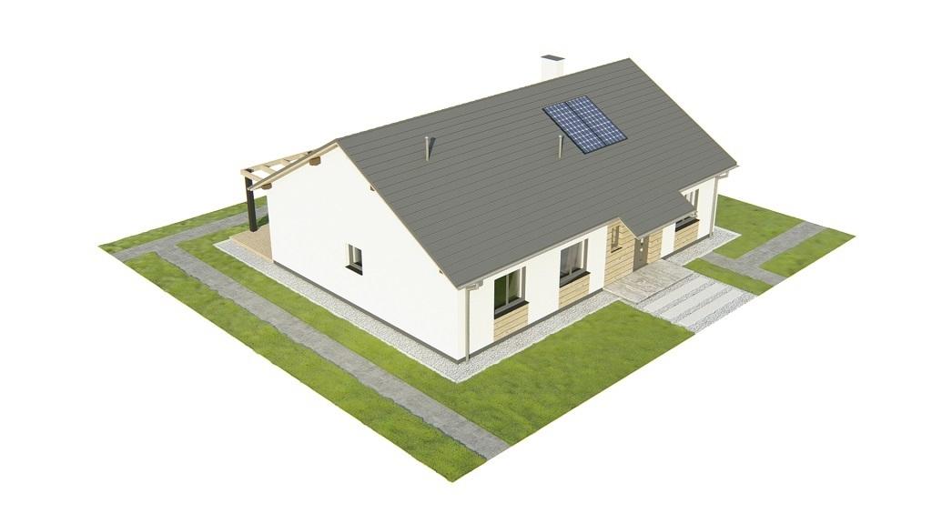 Projekt domu L-6735 - model