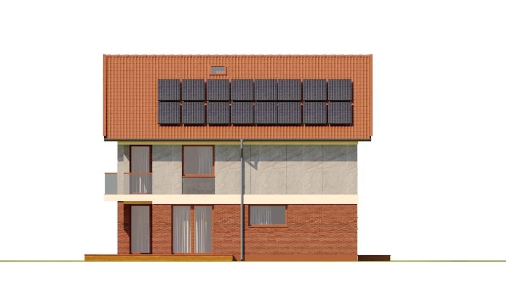 Projekt domu DM-6792 - elewacja