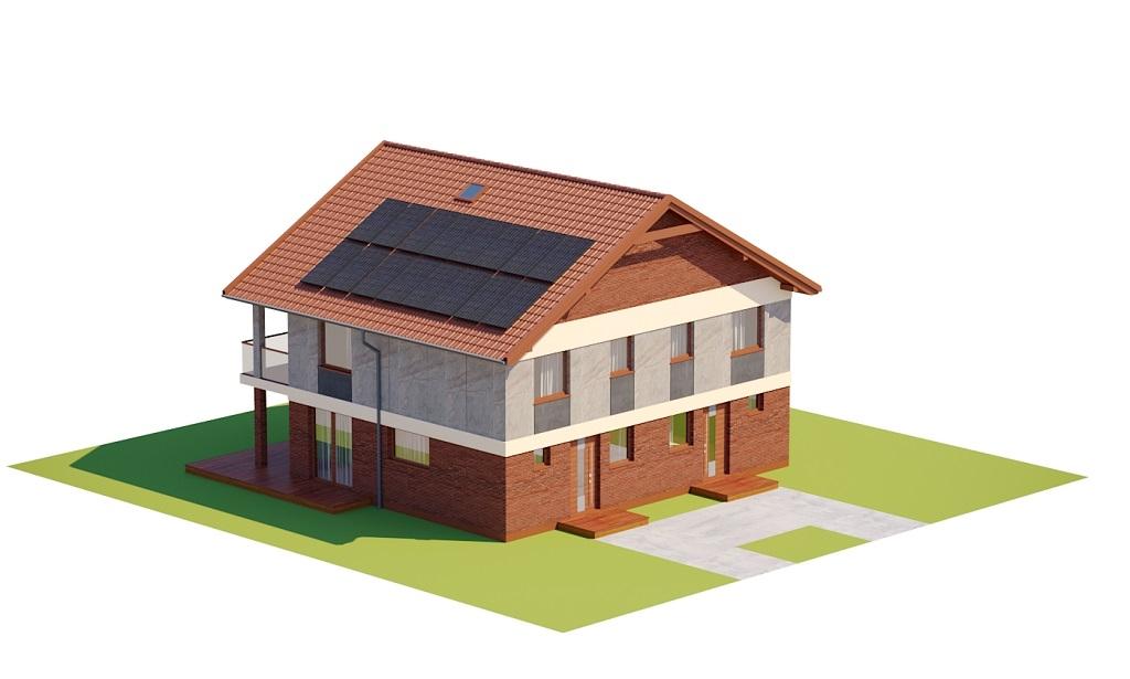 Projekt domu DM-6792 - model