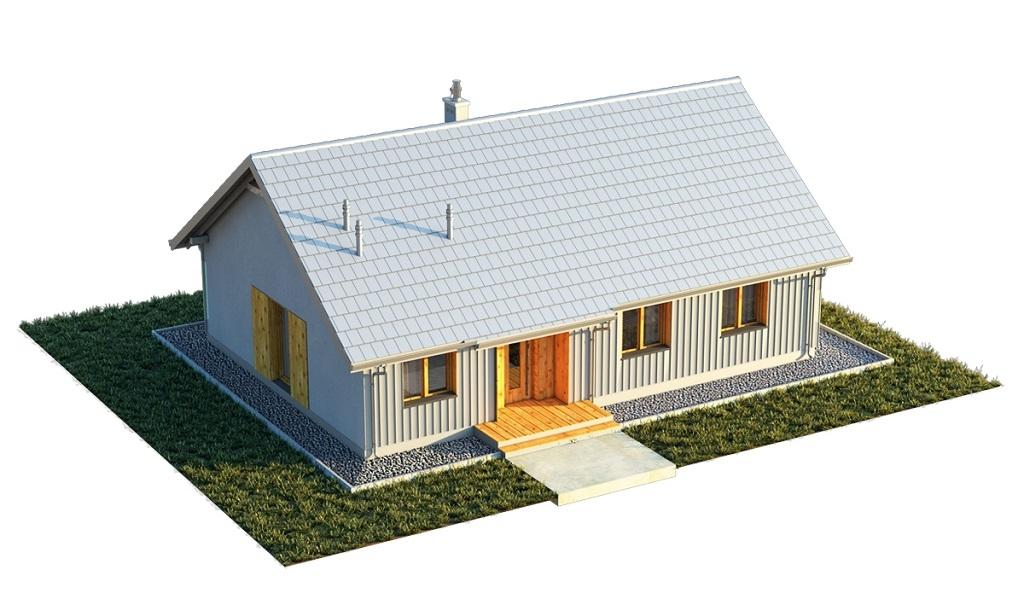 Projekt domu DM-6616 E - model