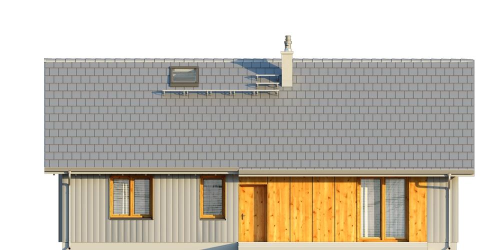 Projekt domu DM-6616 E - elewacja