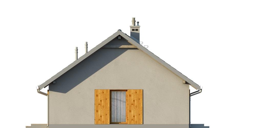 Projekt domu L-6616 E - elewacja