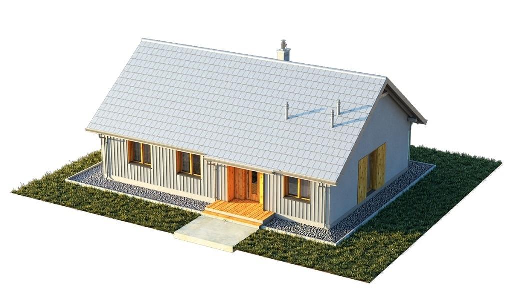 Projekt domu L-6616 E - model