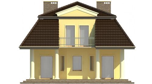 Projekt domu L-5530 - elewacja
