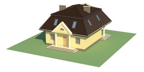 Projekt domu L-5530 - model