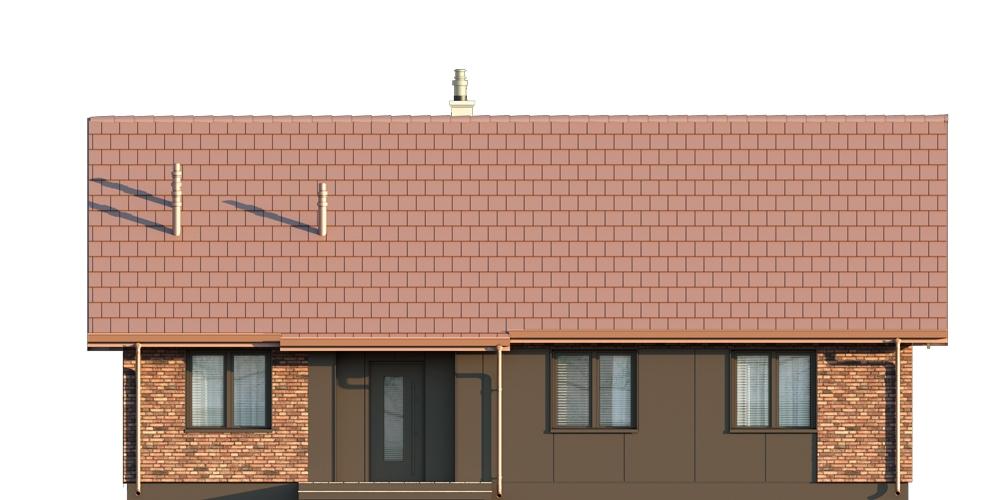 Projekt domu DM-6616 F - elewacja