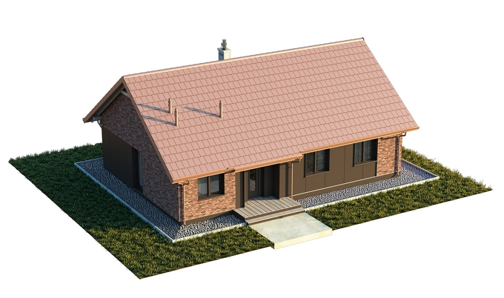 Projekt domu DM-6616 F - model