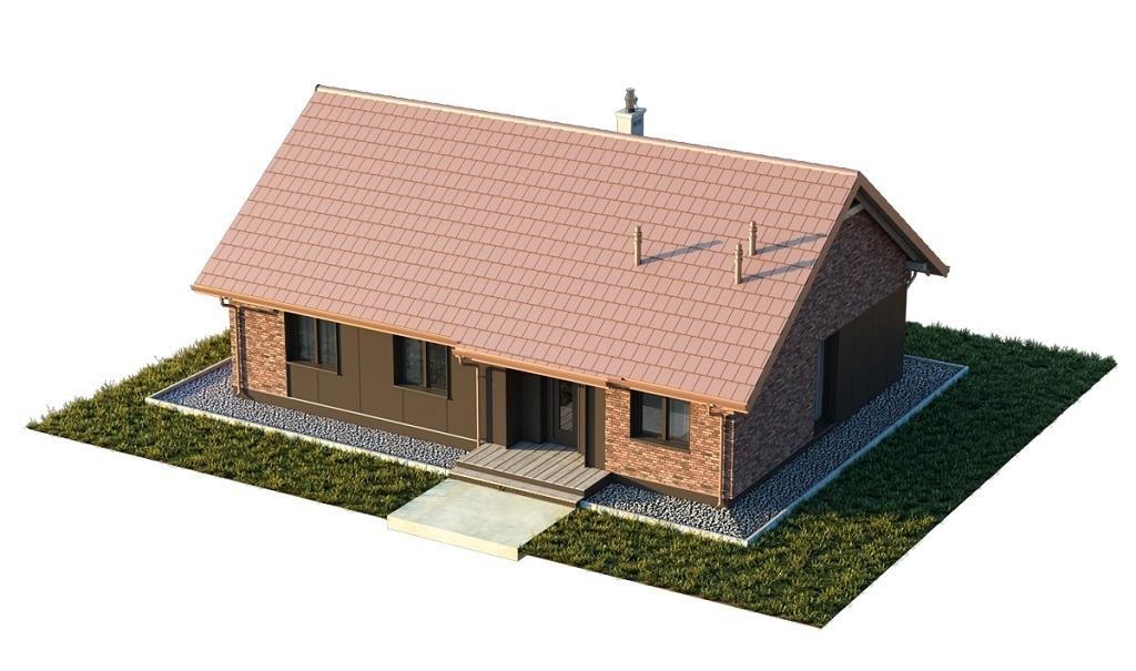 Projekt domu L-6616 F - model