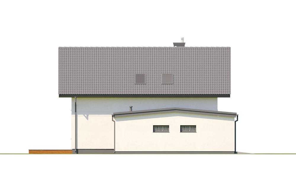 Projekt domu DM-6800 - elewacja