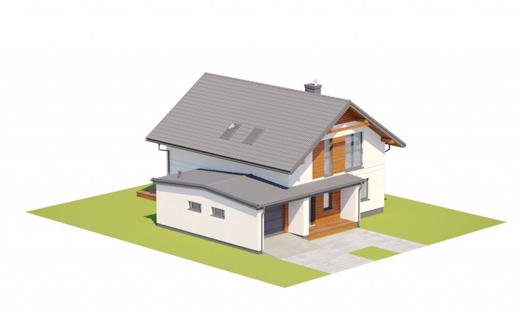 Projekt domu DM-6800 - model