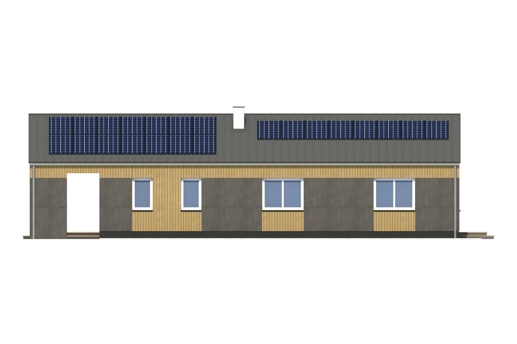 Projekt domu DM-6780 - elewacja
