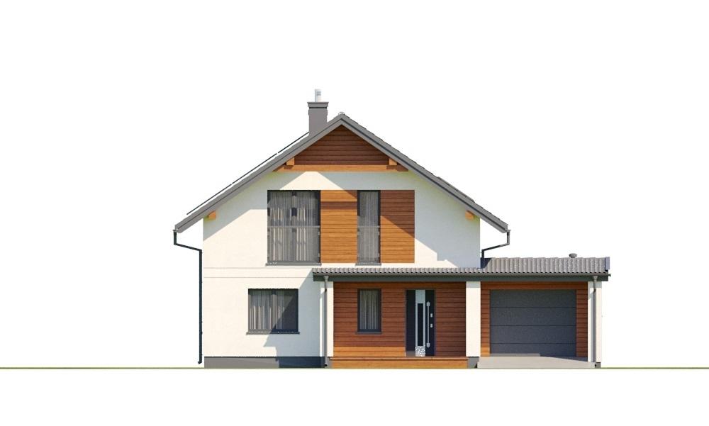 Projekt domu L-6800 - elewacja