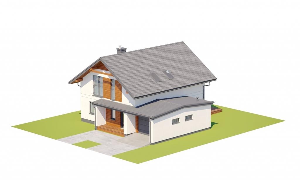 Projekt domu L-6800 - model