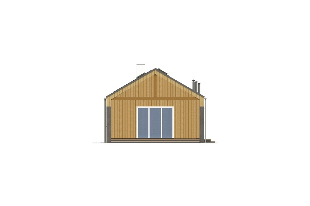 Projekt domu L-6780 - elewacja