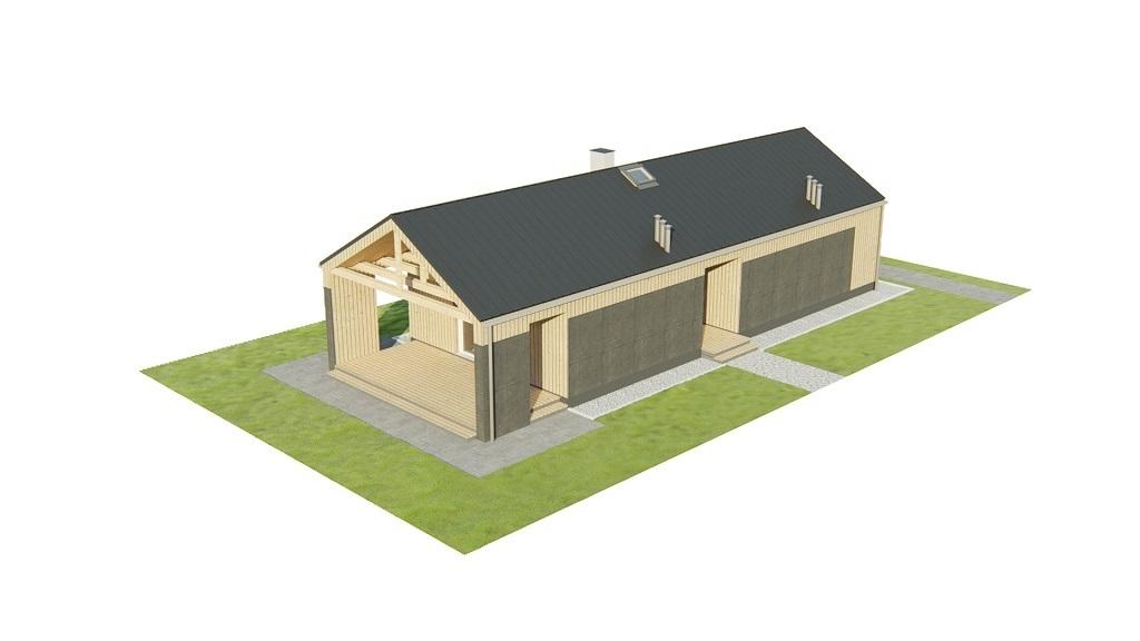 Projekt domu L-6780 - model