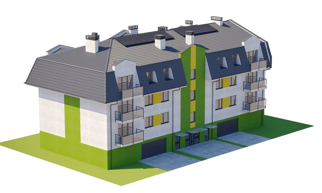 Projekt domu DM-6793 - model