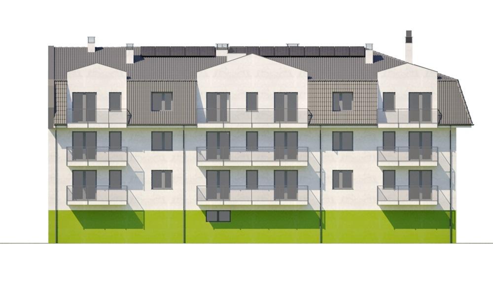 Projekt domu DM-6793 - elewacja