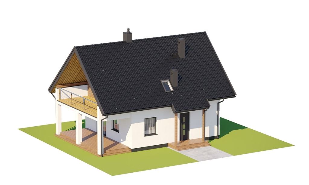 Projekt domu DM-6798 - model