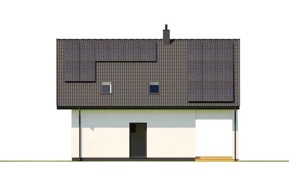 Projekt domu DM-6798 - elewacja