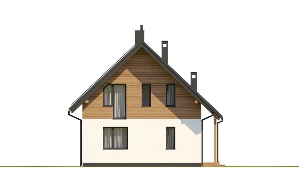 Projekt domu L-6798 - elewacja