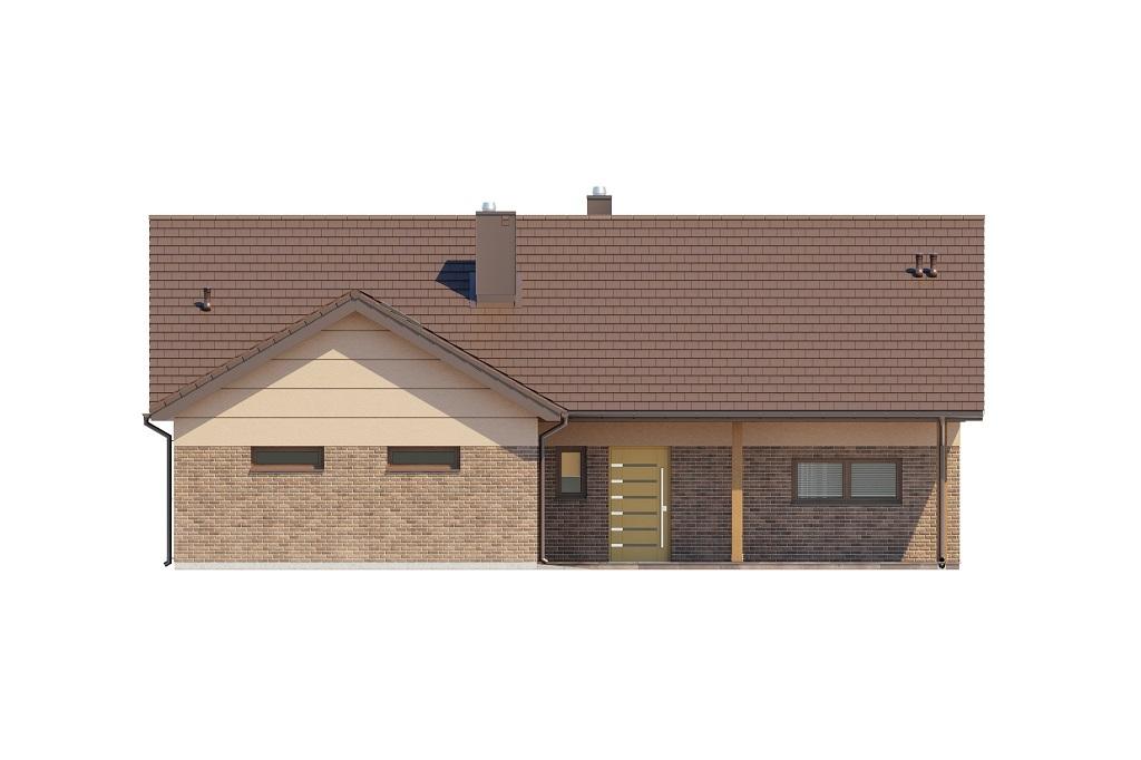 Projekt domu DM-6769 - elewacja