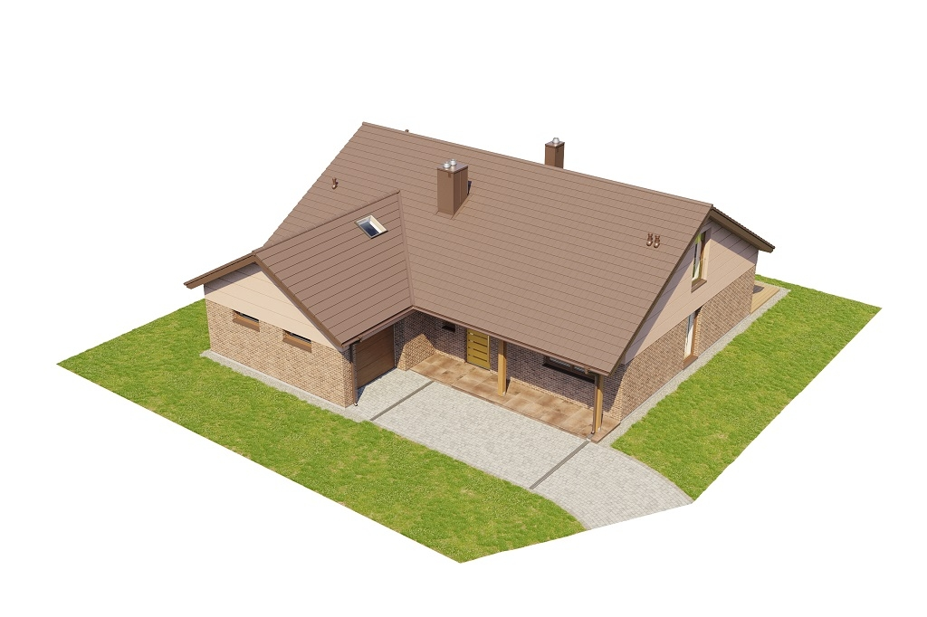 Projekt domu DM-6769 - model