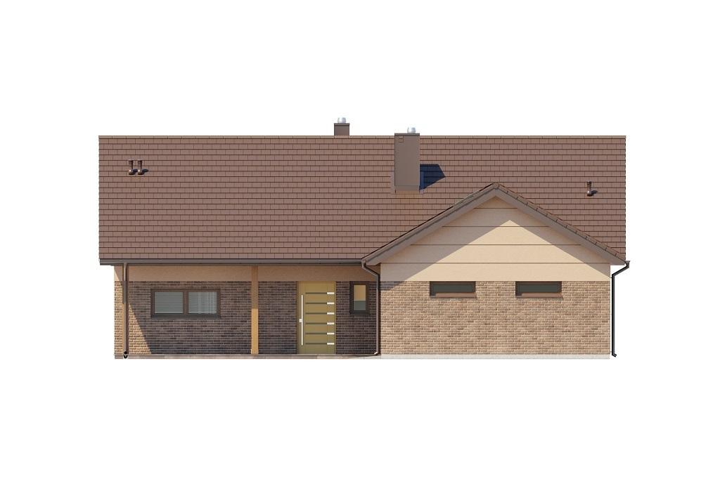 Projekt domu L-6769 - elewacja