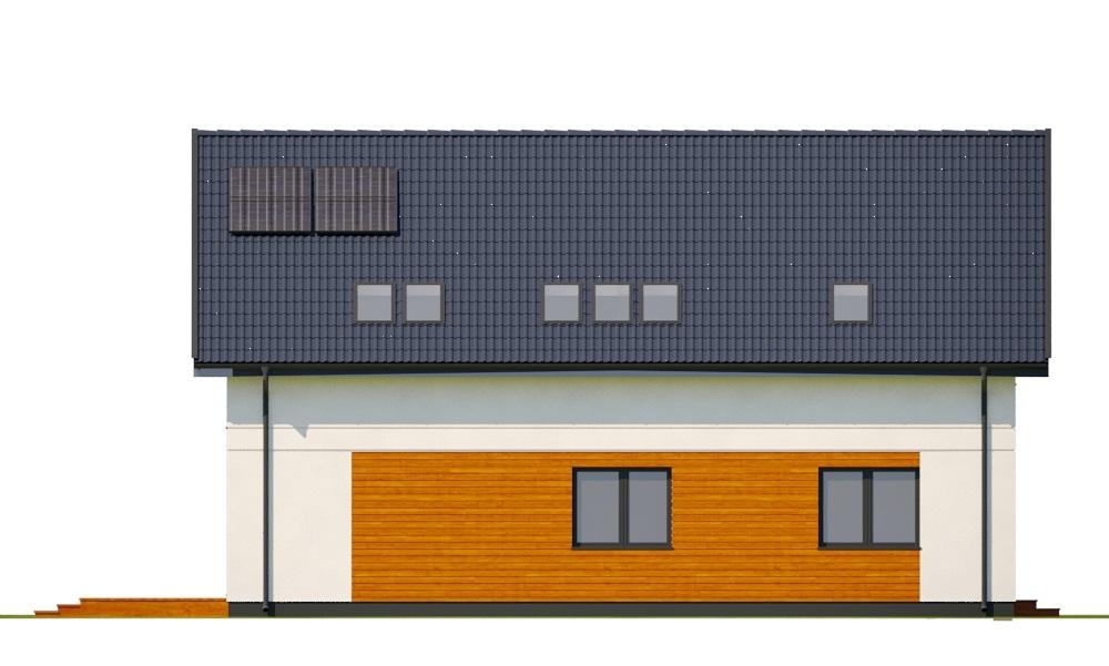 Projekt domu DM-6797 - elewacja