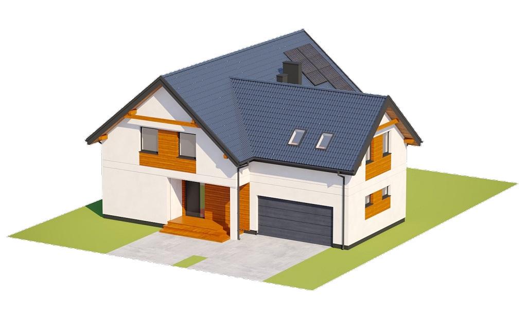 Projekt domu DM-6797 - model