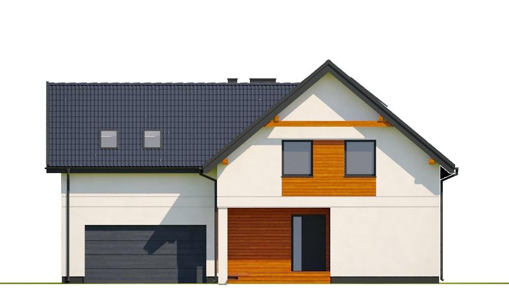 Projekt domu L-6797 - elewacja