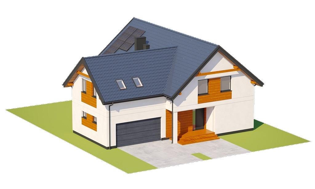 Projekt domu L-6797 - model