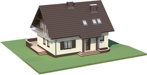 Projekt domu DM-5573 - model