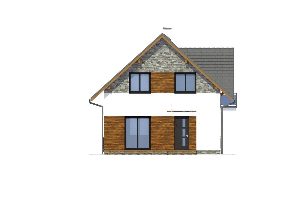 Projekt domu DM-6767 - elewacja