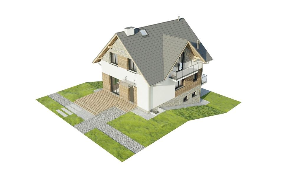 Projekt domu DM-6767 - model