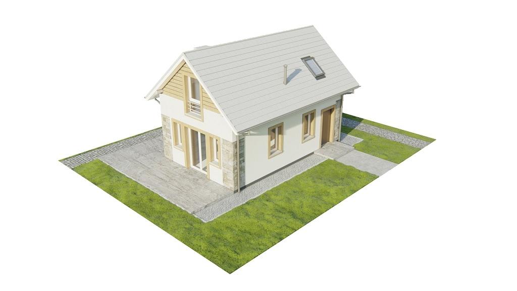 Projekt domu DM-6773 - model