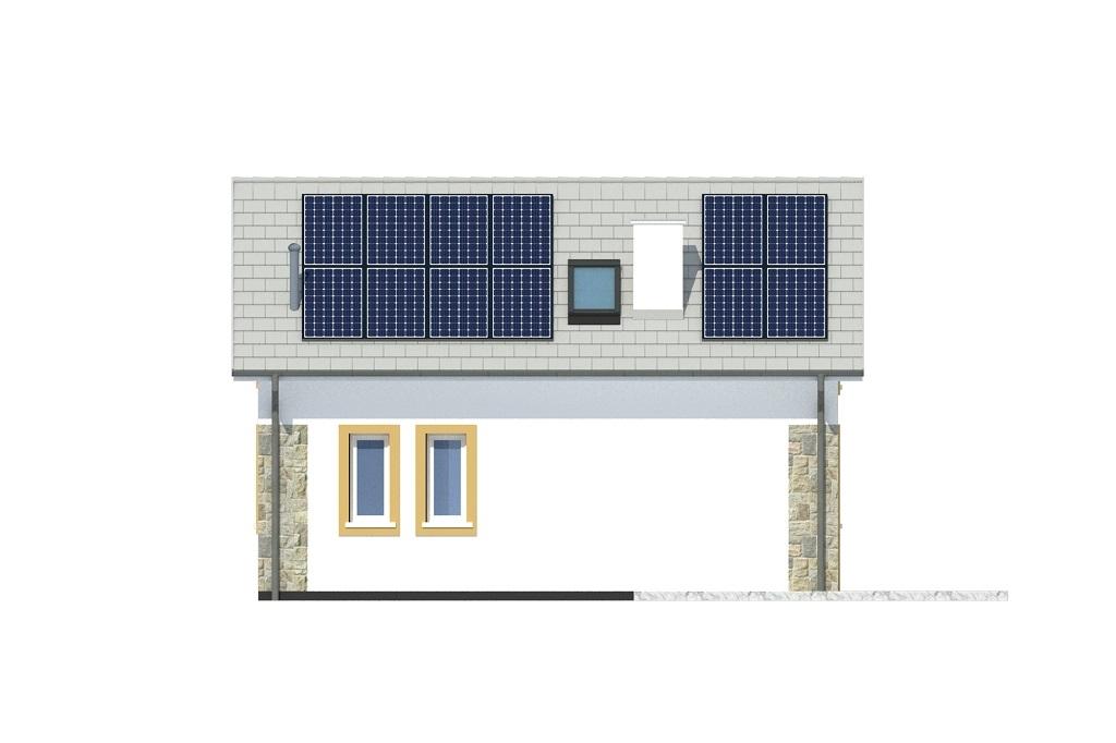 Projekt domu DM-6773 - elewacja